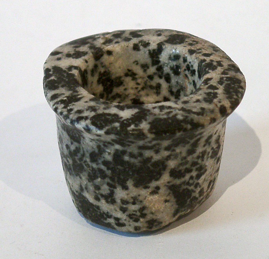 // Egyptian diorite bowl